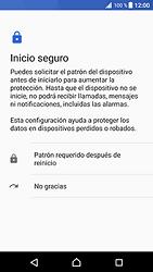 Desbloqueo del equipo por medio del patrón - Sony Xperia XZ Premium - Passo 7