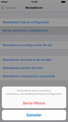 Restaura la configuración de fábrica - Apple iPhone 7 - Passo 6