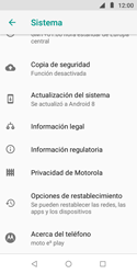 Restaura la configuración de fábrica - Motorola Moto E5 Play - Passo 5