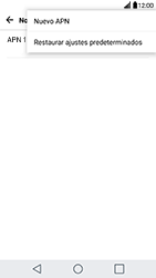 Configura el Internet - LG G5 - Passo 8