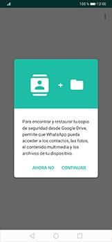 Configuración de Whatsapp - Huawei P30 Pro - Passo 7