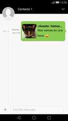 Envía fotos, videos y audio por mensaje de texto - Huawei Ascend Mate 7 - Passo 19