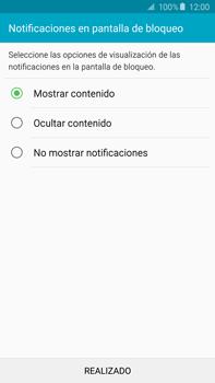 Desbloqueo del equipo por medio del patrón - Samsung Galaxy Note 5 - N920 - Passo 15