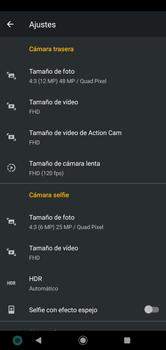 Opciones de la cámara - Motorola Moto G8 Plus (Dual SIM) - Passo 8