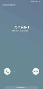 Contesta, rechaza o silencia una llamada - Samsung Galaxy S8+ - Passo 2