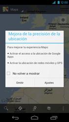 Uso de la navegación GPS - Motorola RAZR HD  XT925 - Passo 4