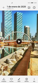 Cómo grabar videos con resolución 4K - Huawei P40 - Passo 14
