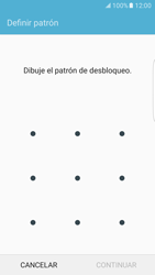 Desbloqueo del equipo por medio del patrón - Samsung Galaxy S7 Edge - G935 - Passo 7
