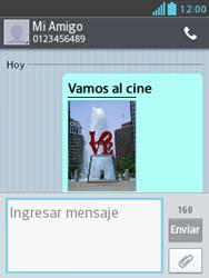 Envía fotos, videos y audio por mensaje de texto - LG Optimus L3 II - Passo 17
