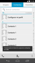 ¿Tu equipo puede copiar contactos a la SIM card? - Huawei Ascend P6 - Passo 11