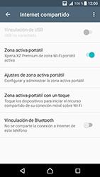 Configura el hotspot móvil - Sony Xperia XZ Premium - Passo 12