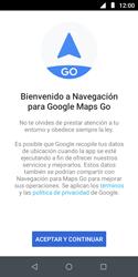 Uso de la navegación GPS - Motorola Moto E5 Play - Passo 20