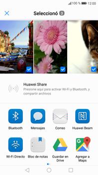 Transferir fotos vía Bluetooth - Huawei Mate 9 - Passo 8