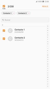 ¿Tu equipo puede copiar contactos a la SIM card? - Samsung Galaxy A7 2017 - A720 - Passo 11