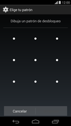 Desbloqueo del equipo por medio del patrón - Motorola Moto G - Passo 7