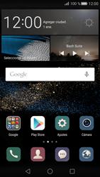 Transferir fotos vía Bluetooth - Huawei P8 - Passo 1
