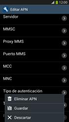 Configura el Internet - Samsung Galaxy S4  GT - I9500 - Passo 16