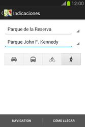Uso de la navegación GPS - Samsung Galaxy Fame GT - S6810 - Passo 18