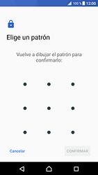Desbloqueo del equipo por medio del patrón - Sony Xperia XZ Premium - Passo 10