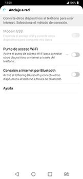 Configura el hotspot móvil - LG G7 Fit - Passo 4