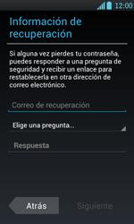 Crea una cuenta - LG Optimus L7 - Passo 12