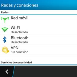 Configura el WiFi - BlackBerry Q5 - Passo 5
