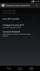 Configura el hotspot móvil - Motorola Moto X (2a Gen) - Passo 9