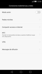 Configura el hotspot móvil - Huawei Ascend Mate 7 - Passo 5