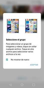 Transferir fotos vía Bluetooth - LG G6 - Passo 6