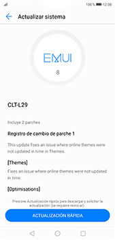 Actualiza el software del equipo - Huawei P20 Pro - Passo 8