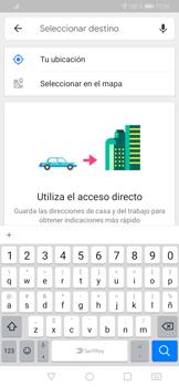Uso de la navegación GPS - Huawei P30 - Passo 13
