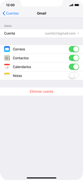 Desactivar la sincronización automática - Apple iPhone XS Max - Passo 5