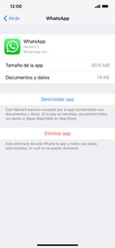 Desinstalar aplicaciones - Apple iPhone XS Max - Passo 5