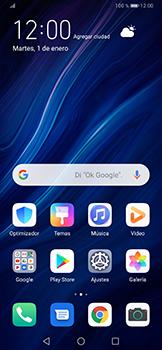 Cómo enviar un correo electrónico - Huawei P30 Pro - Passo 1