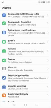 Configura el Internet - Huawei P20 - Passo 3