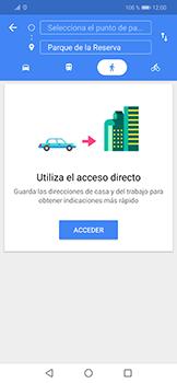 Uso de la navegación GPS - Huawei Mate 20 Lite - Passo 11