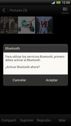 Transferir fotos vía Bluetooth - HTC ONE X  Endeavor - Passo 11
