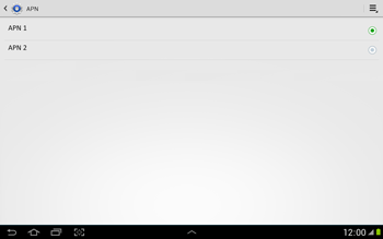 Configura el Internet - Samsung Galaxy Note 10-1 - N8000 - Passo 17