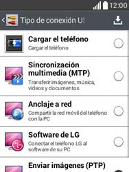Comparte la conexión de datos con una PC - LG L20 - Passo 6
