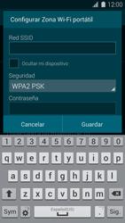 Configura el hotspot móvil - Samsung Galaxy S5 - G900F - Passo 9