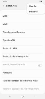 Configura el Internet - Samsung Galaxy A80 - Passo 16