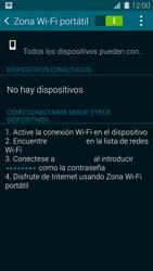 Configura el hotspot móvil - Samsung Galaxy S5 - G900F - Passo 11