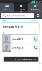¿Tu equipo puede copiar contactos a la SIM card? - LG Optimus L7 - Passo 10