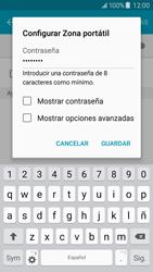 Configura el hotspot móvil - Samsung Galaxy J5 - J500F - Passo 9