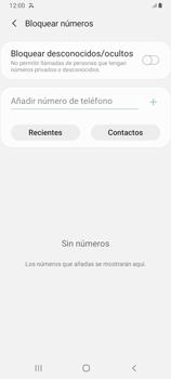 Cómo bloquear llamadas - Samsung Galaxy A12 - Passo 6