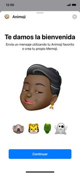 Enviar Animoji - Apple iPhone XS Max - Passo 8