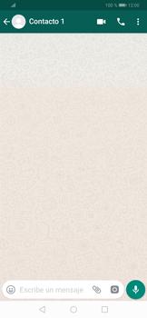 Usar WhatsApp - Huawei P30 - Passo 5