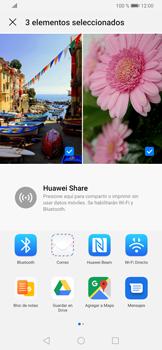 Transferir fotos vía Bluetooth - Huawei P30 - Passo 8