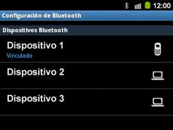 Conecta con otro dispositivo Bluetooth - Samsung Galaxy Y Pro GT - B5510 - Passo 10