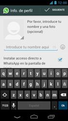 Configuración de Whatsapp - Motorola RAZR D3 XT919 - Passo 8